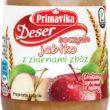 Lekki, odżywczy owocowy Deser Soczyste Jabłko z ziarnami zbóż