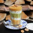 Przepis na deser z banana, nektaryny i kiwi