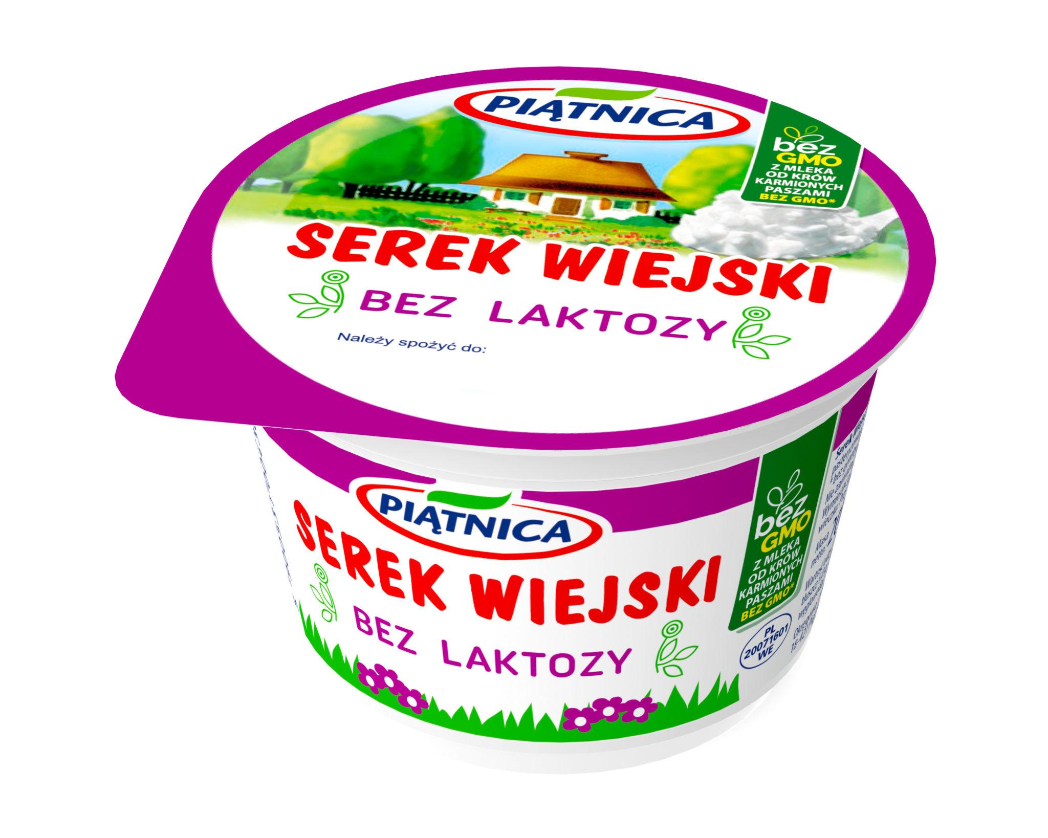 Serek Wiejski Bez Laktozy Od Osm Piatnica Rzodkiewka Na Zdrowie